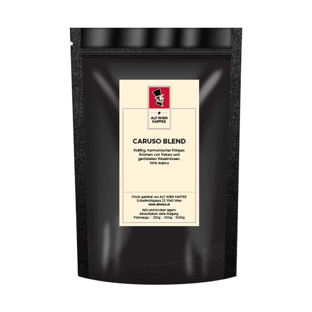 carusso blend kaffee