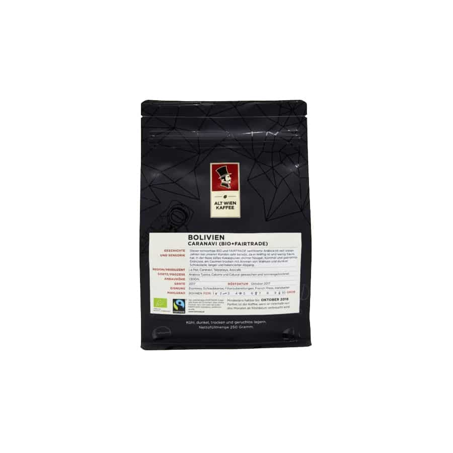 Bolivien Caranavi BIO + Fairtrade